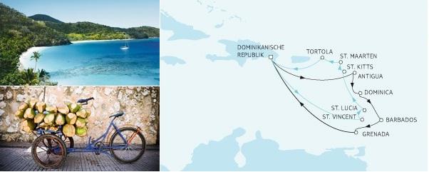 Doble diversión por el Caribe al mejor estilo alemán con TUI Cruises