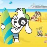 Crucero por El Caribe con Doki y sus amigos