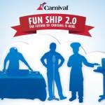 Diversión a bordo 2.0 con Carnival Cruise
