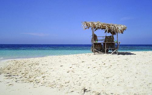 Tomando mi Guavaberry en el Caribe