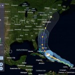 El paso del Huracán Irene por el Caribe