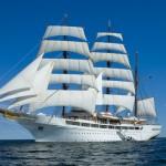 El romanticismo de un velero por el Caribe