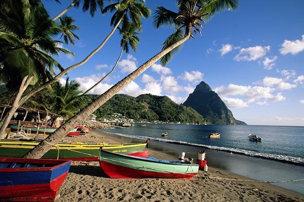 Premios para los mejores destinos de vacaciones del Caribe – Santa Lucía